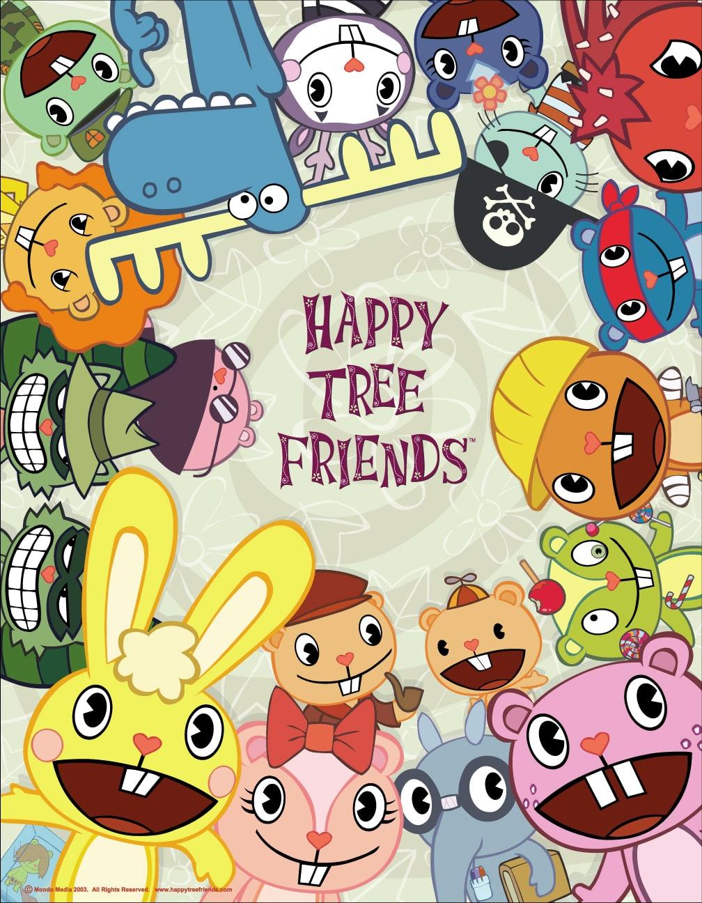 happy tree friends friends