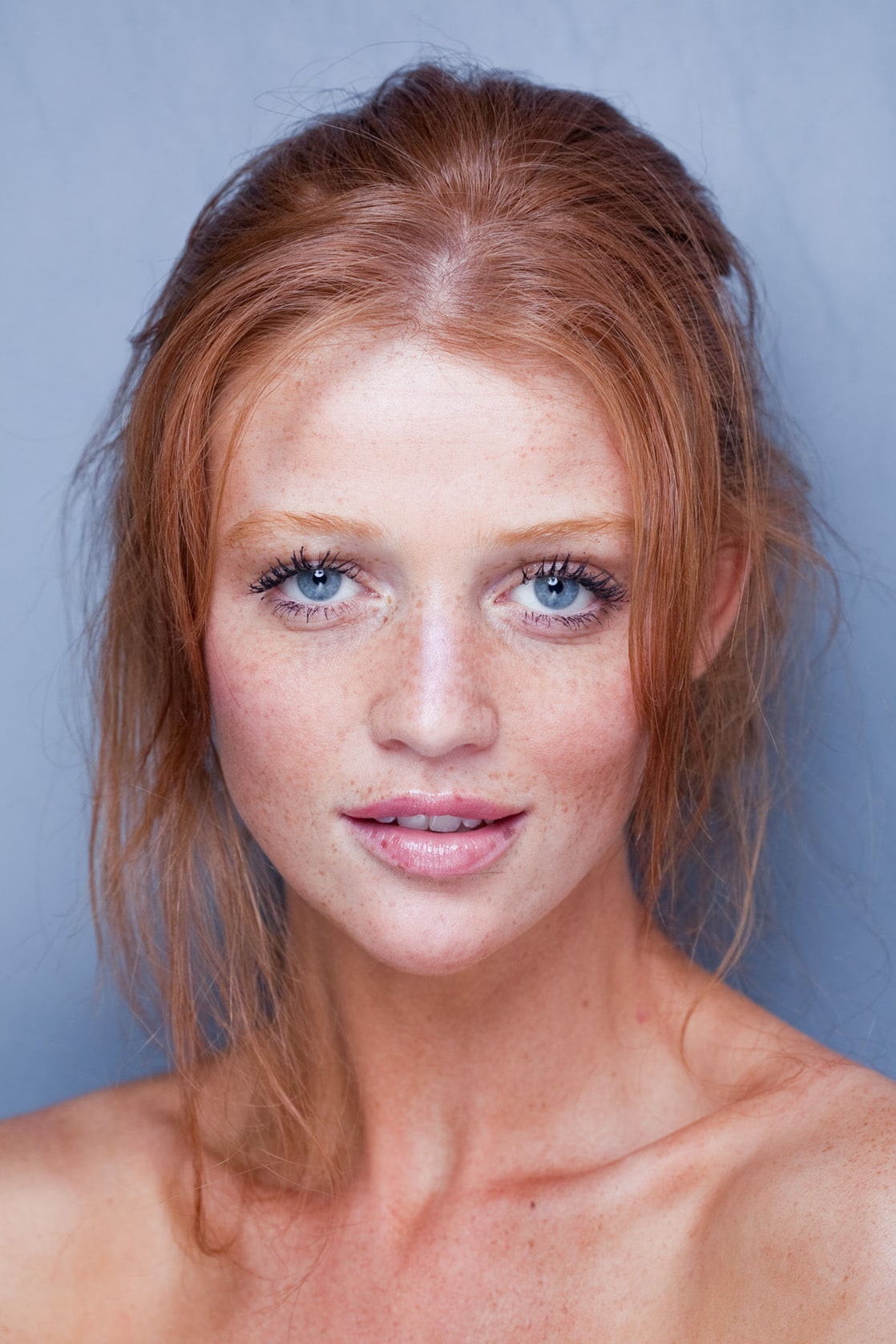 Pretty Girls With Natural Red Hair And Blue Eyes Picture of Cintia Dick...