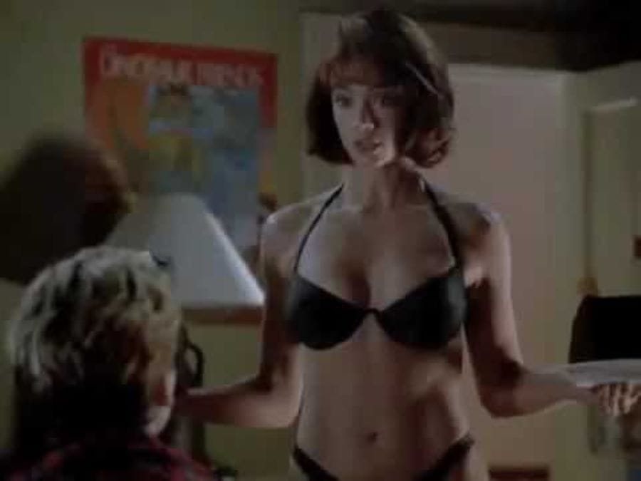 Young lauren holly Celebrity Breast