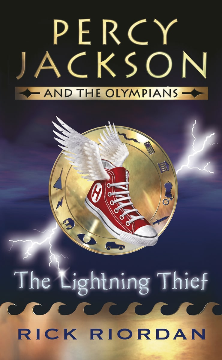 percy jackson and the olympians the lightning thief book report