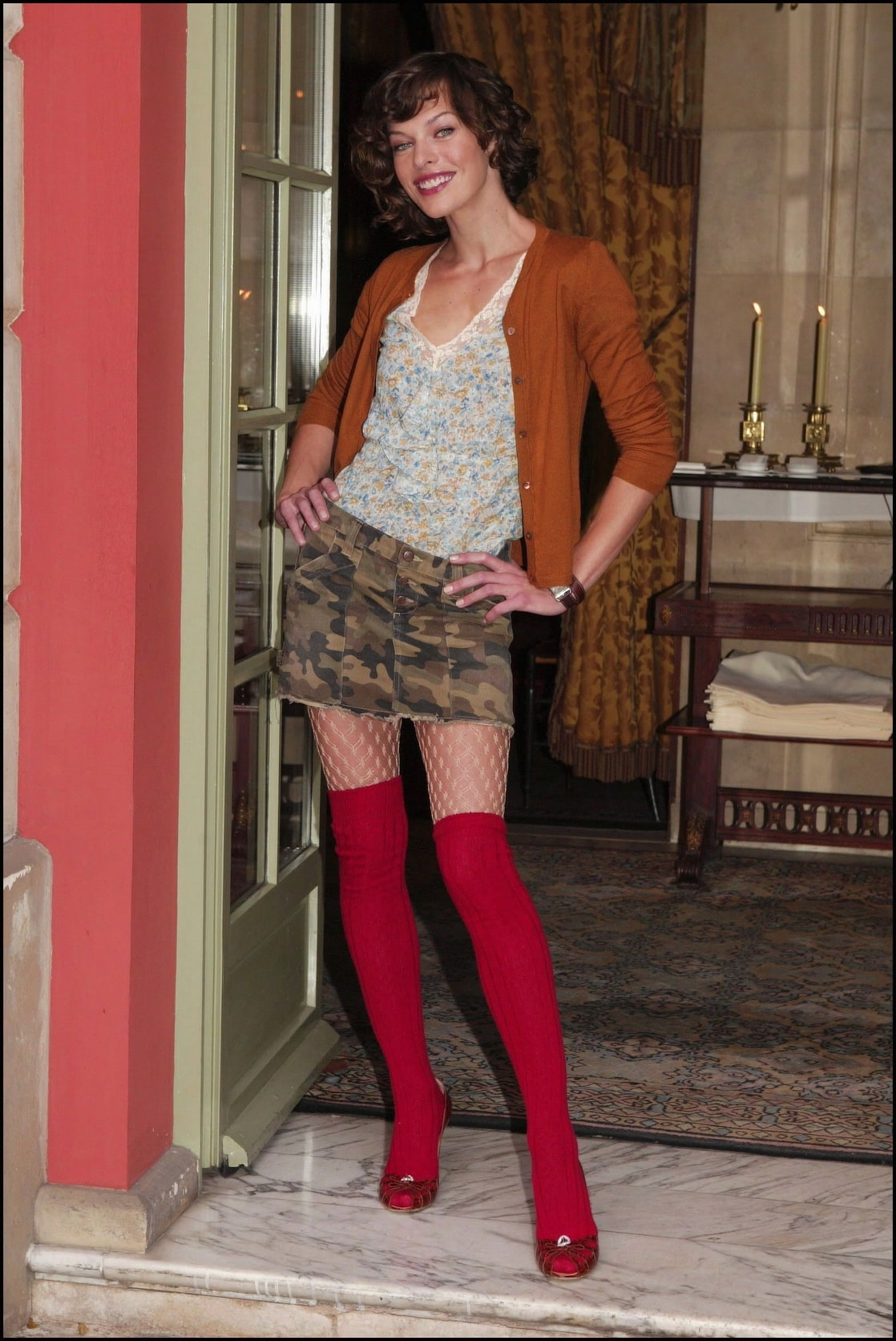 Opinion milla jovovich pantyhose have removed