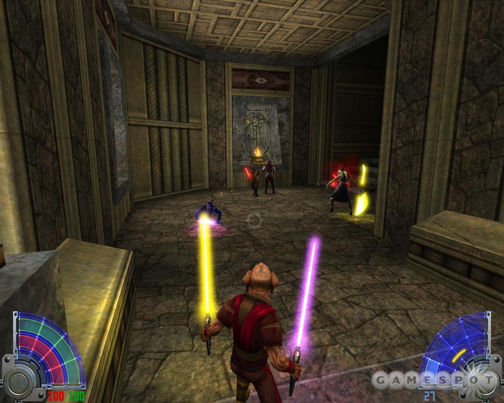 Star Wars Jedi Knight : Jedi Academy (Xbox) avec JeuxVideo.fr