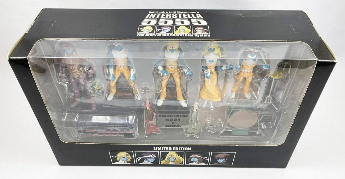 Interstella 5555 - Set of 5 Action Figures