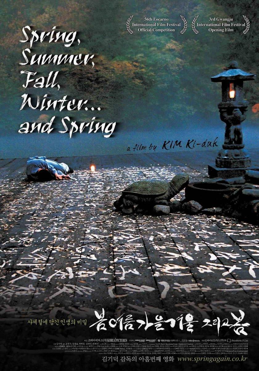 Spring Summer Fall Winter And Spring Stills Spring Summer Fall