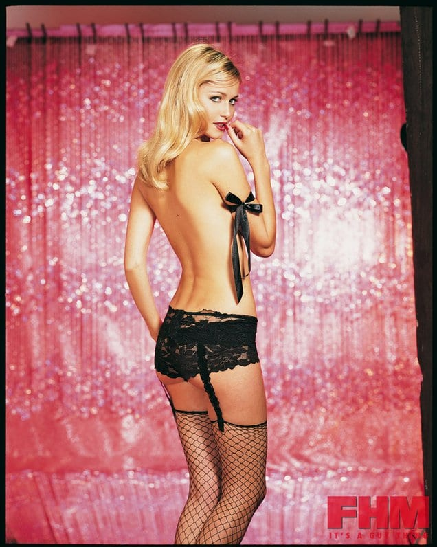 Kerry Katona Topless And Thong Bikini Pics