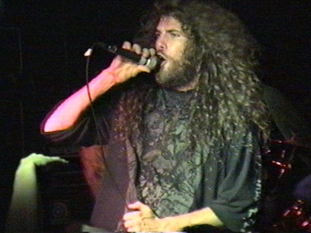 Six Feet Under Band Art: Picture Of Cannibal Chris Barnes