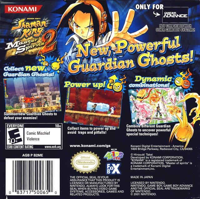 list of shaman king video games