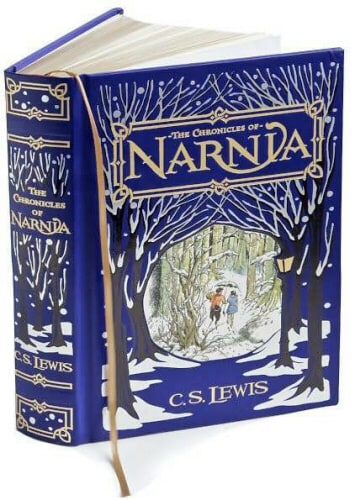 Book Cover Canvas Art Barnes And Noble : Chronicles of narnia b n leatherbound classics