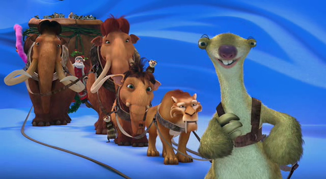 ice age a mammoth christmas characters - Ice Age Mammoth Christmas