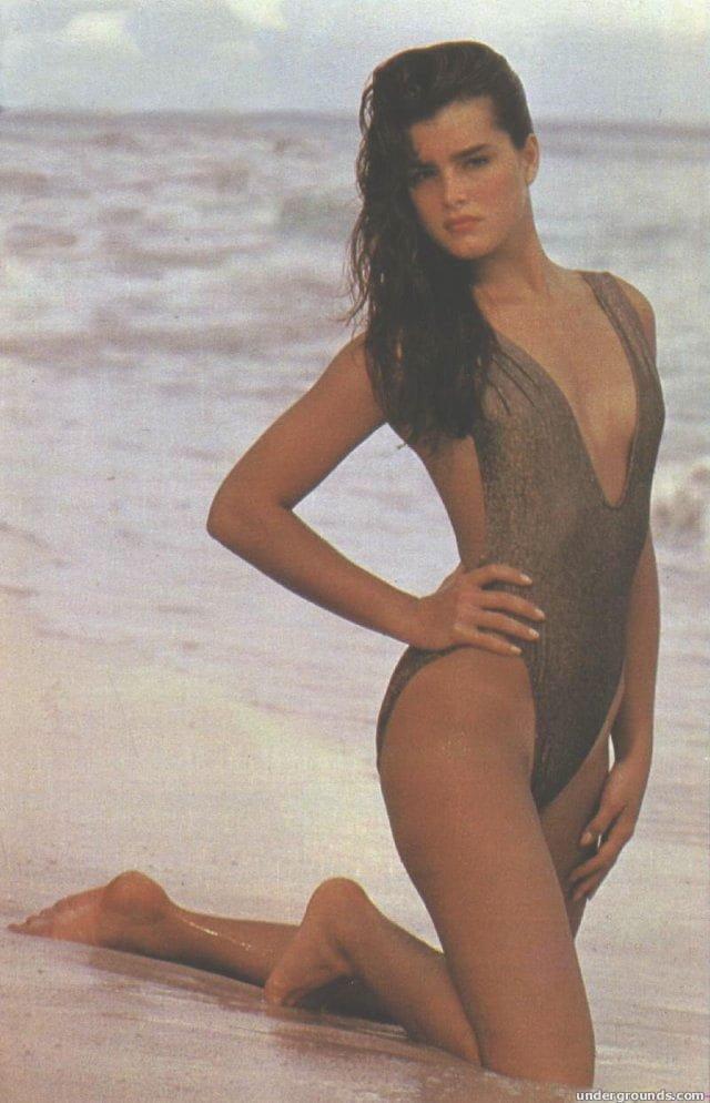 Fotos de desnudos de Brooke Shields filtradas en