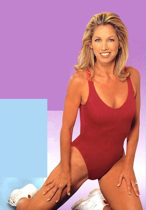 Denise austin and katie austin the fit expo los angeles