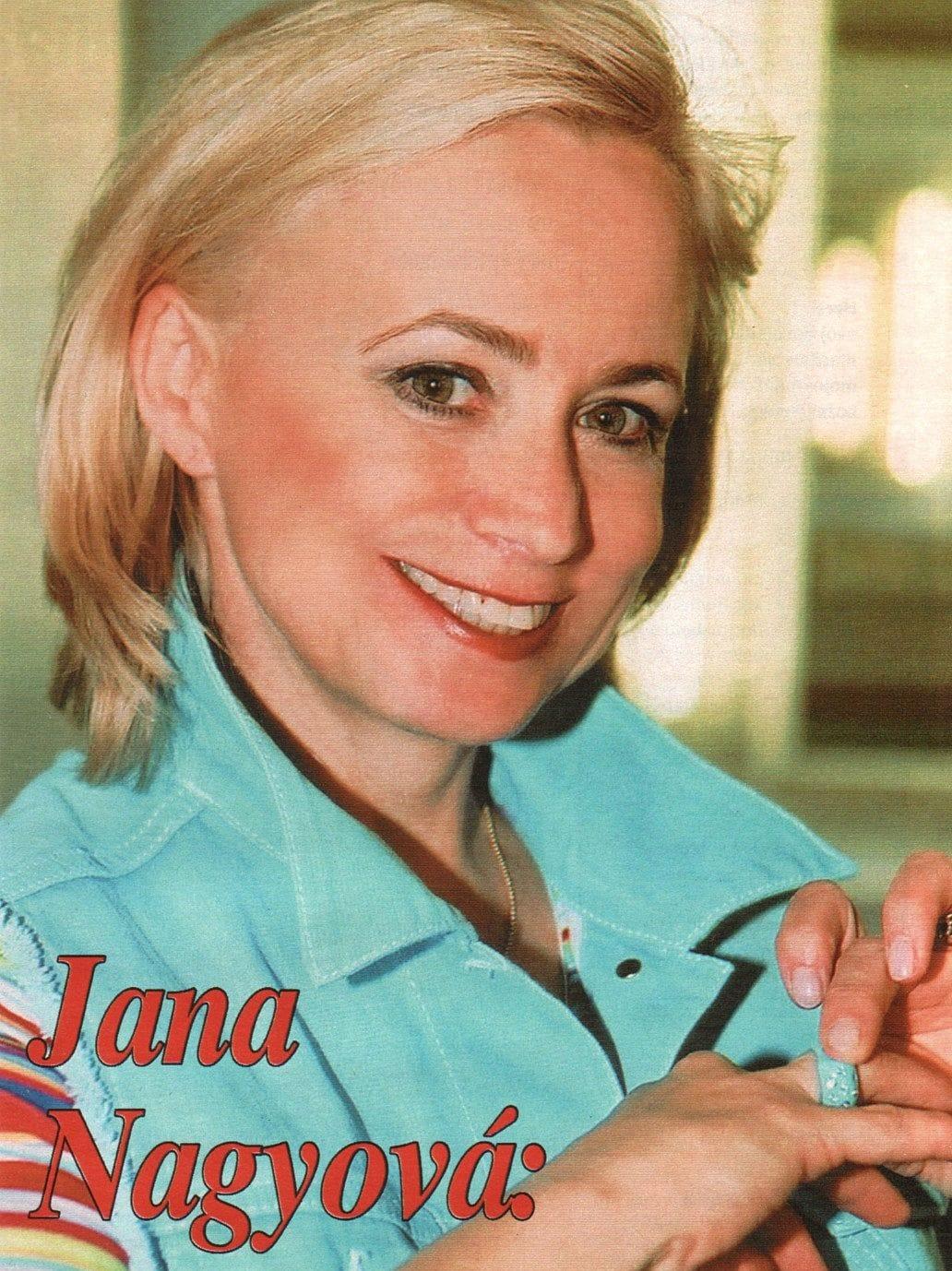 Jana Nagyova Nude Photos 77