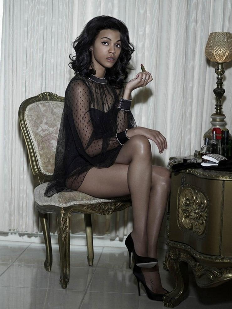 Picture Of Zoe Saldana