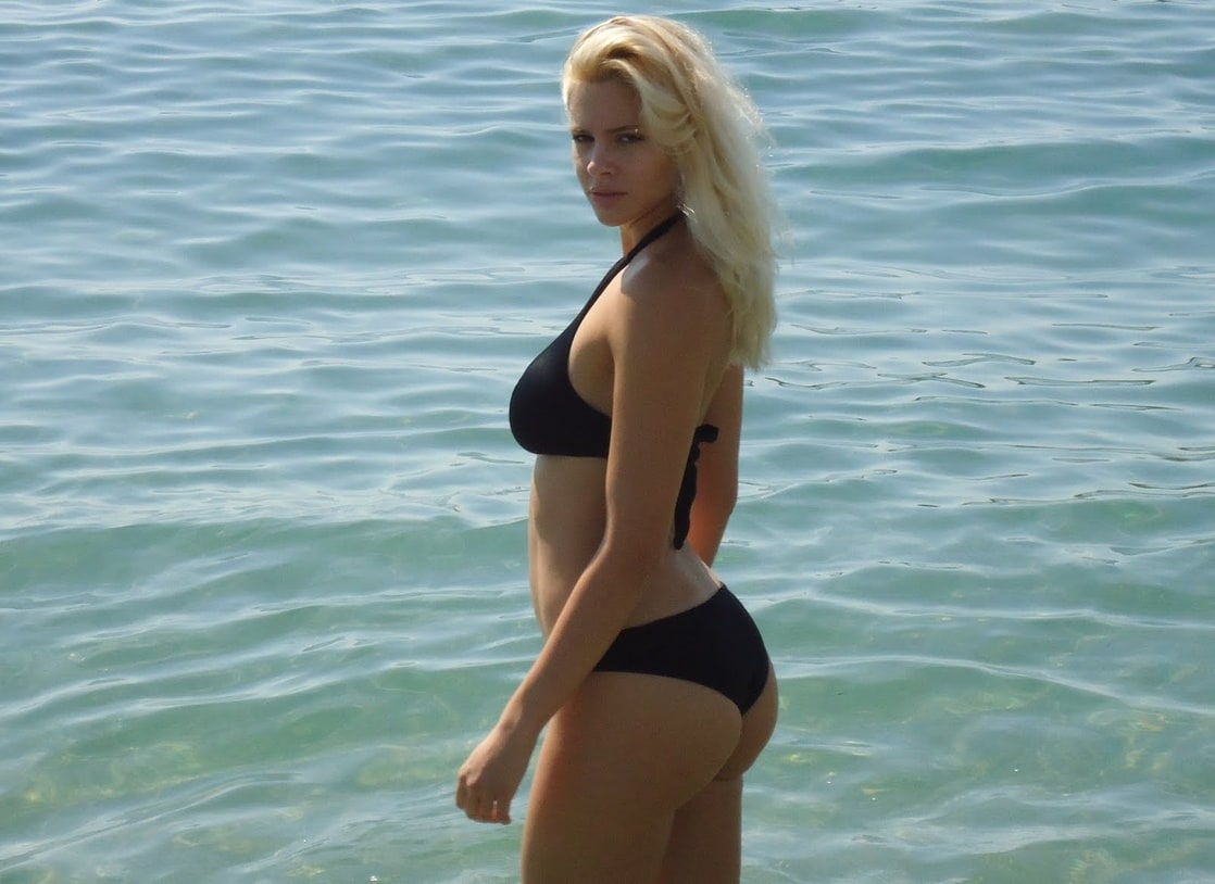 Bikini Ria Antoniou naked (65 images), Is a cute