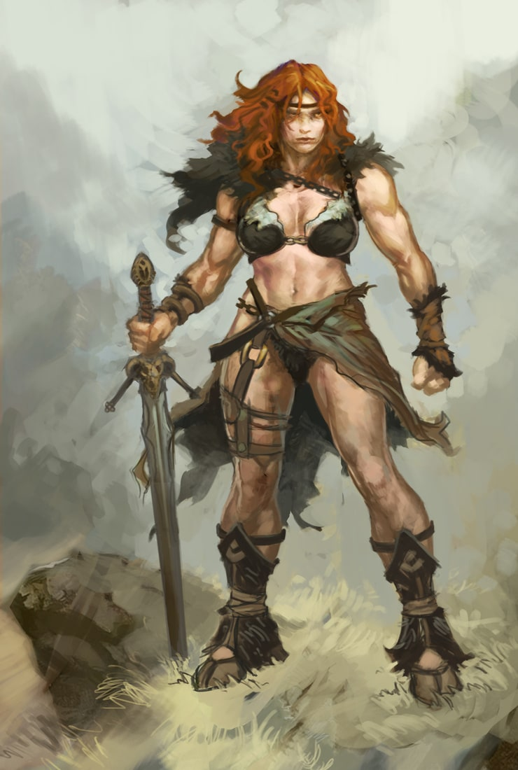 Female barbarian pictures erotic young female