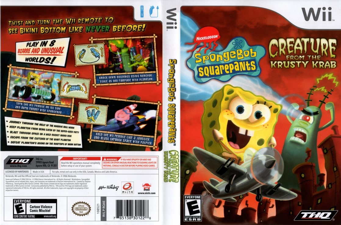 Picture Of Spongebob Squarepants Creature From The Krusty Krab