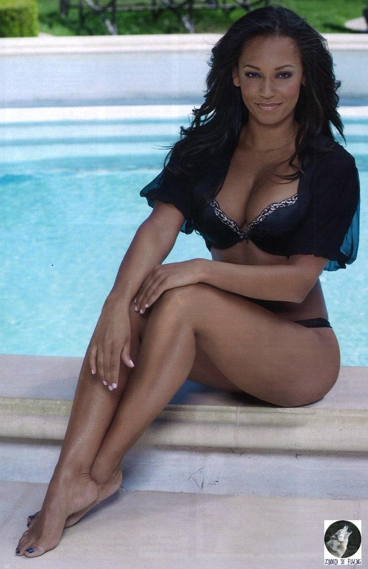 melanie brown in bikini