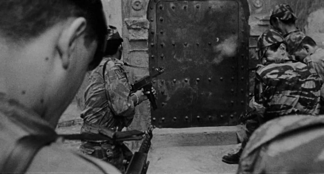 the battle of algiers Special features include: new extra on the 4k restoration booklet by alan o'leary the making of the battle of algiers (interview with dir gillo pontecorvo.