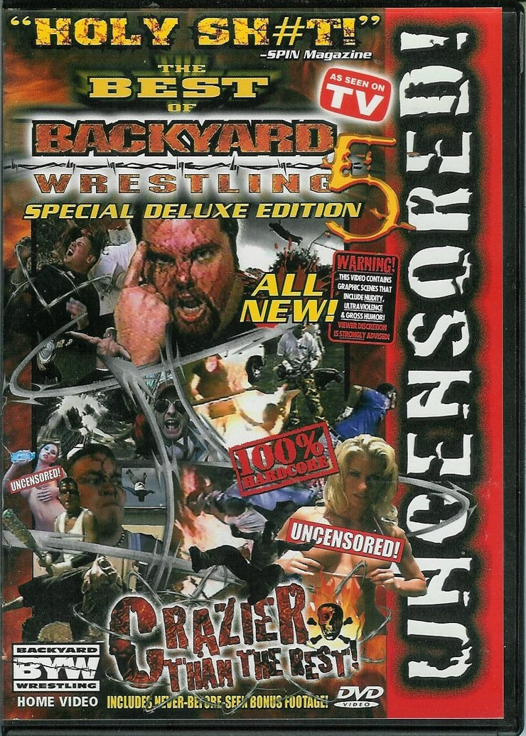 Picture of The Best of Backyard Wrestling, Vol. 5