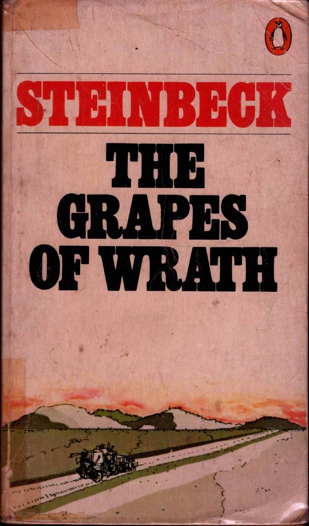 a review of john steinbecks book the grapes of wrath An appreciation of john steinbeck's the grapes of  of the publication of the grapes of wrath  north american review suggested that steinbeck should.