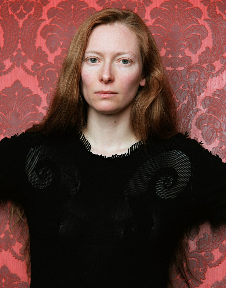 Tilda swinton long hair