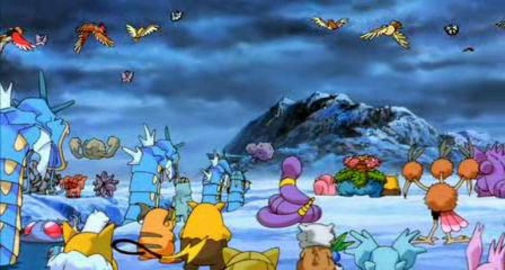 Picture Of Pokemon The Movie 2000