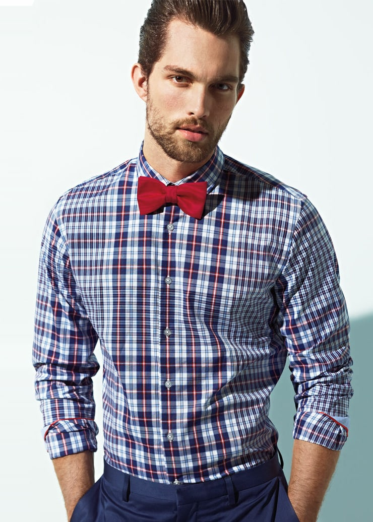 Picture of tobias sorensen for Casual shirt and tie