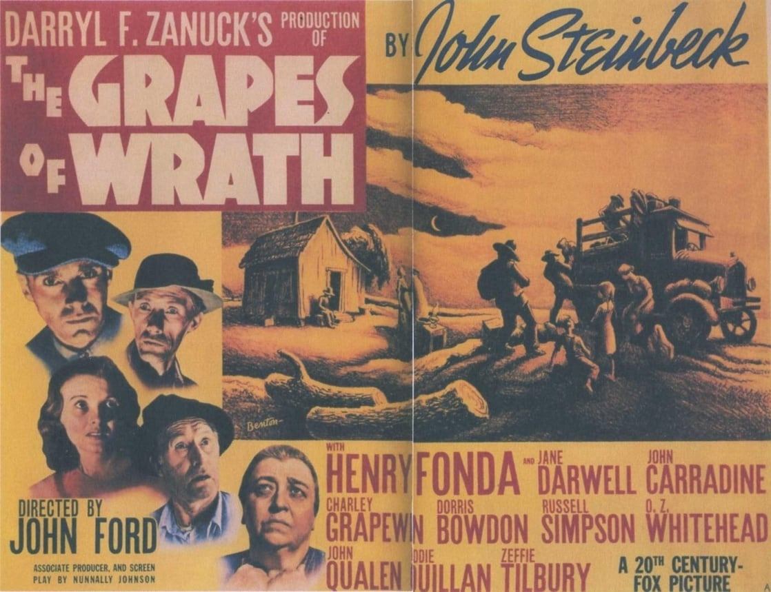an analysis of the topic of the movie the grapes of wrath The #1 movie review, analysis, question and answer site tell the world what you think about the grapes of wrath post a review / analysis post a review / analysis.
