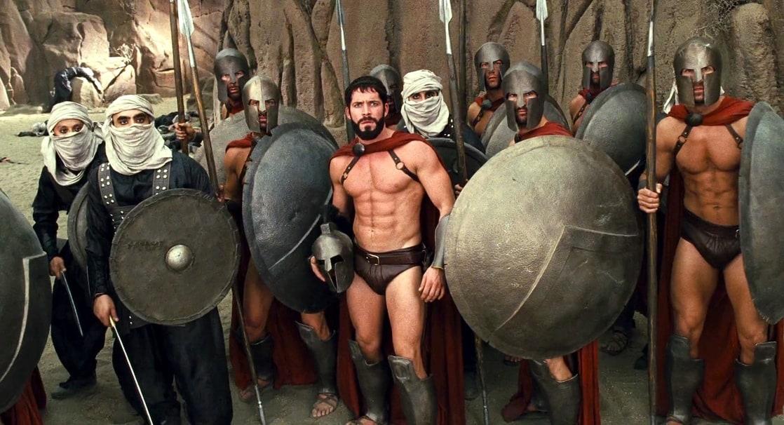 скачать через торрент пародия на 300 спартанцев