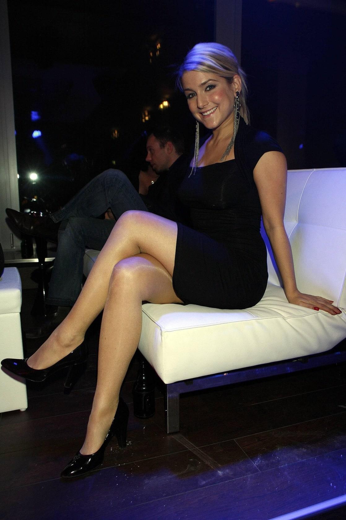 Jeanette biedermann nylon