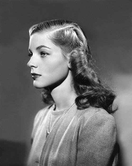 Picture of Lauren Bacall Lauren Bacall Young