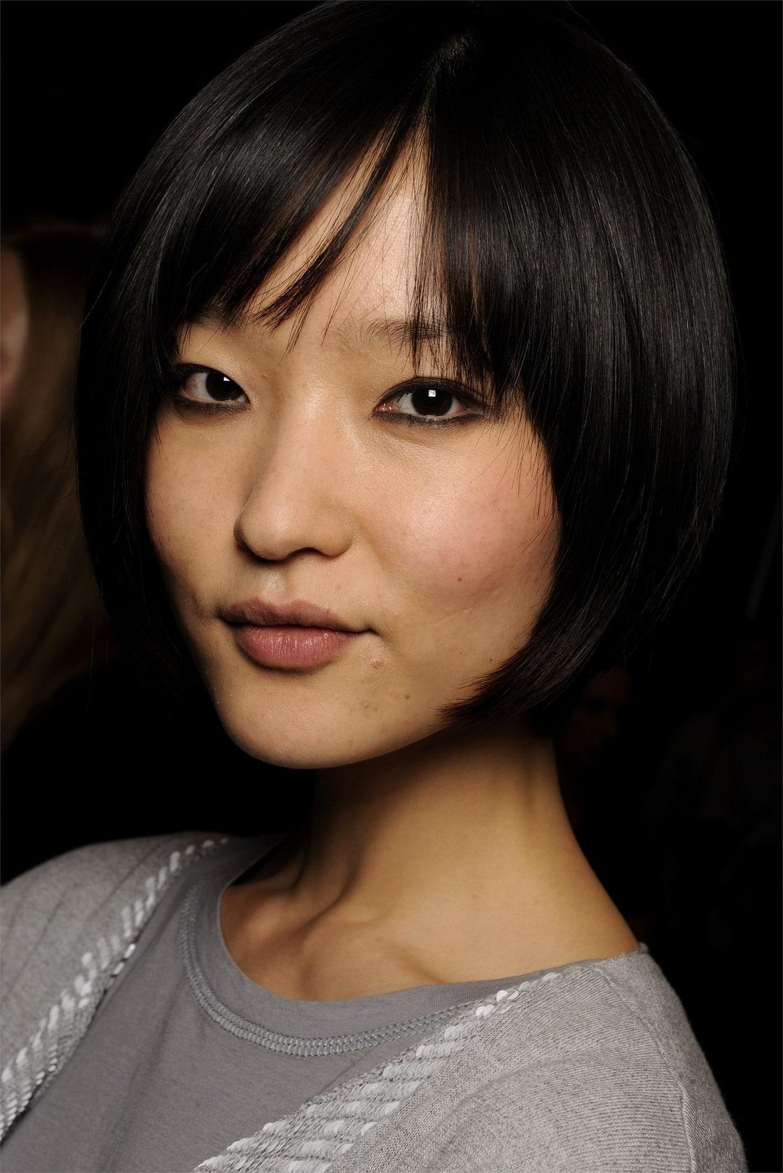 Прически для монголоидного типа лица фото