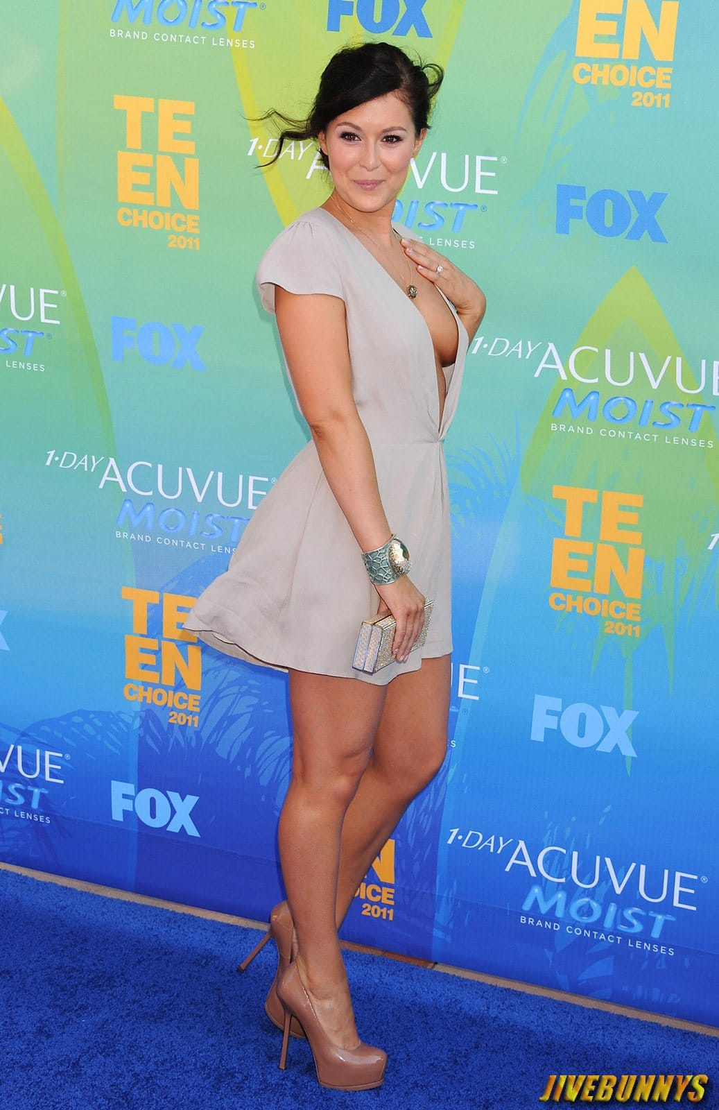 Alexa vega cleavage will