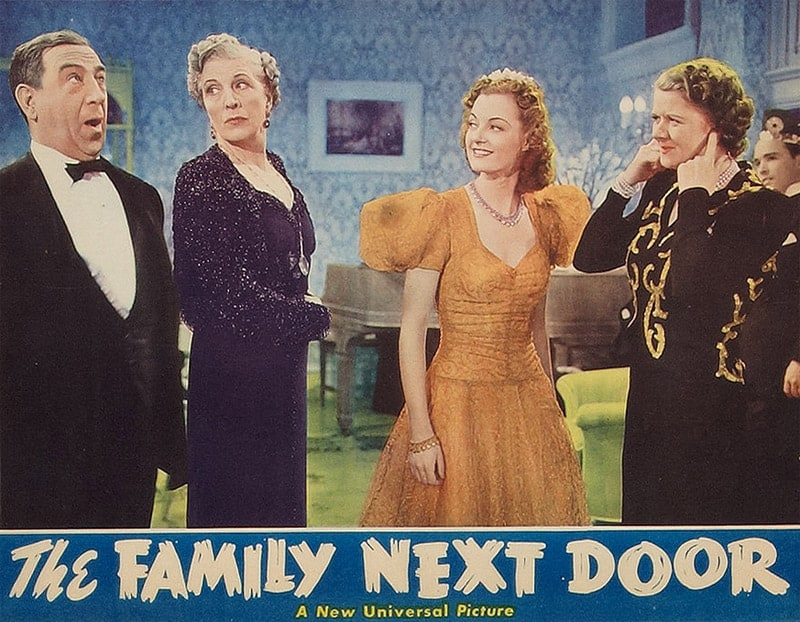 the family next door The family next door is a story about the lund family (4 children, 2 on the autism spectrum) and their journey into the hyper-complex and emotionally draining maze.