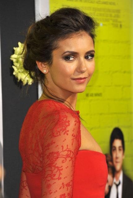 Nina Dobrev Perks Of Being A Wallflower Premiere Hair Picture of Nina Dobrev