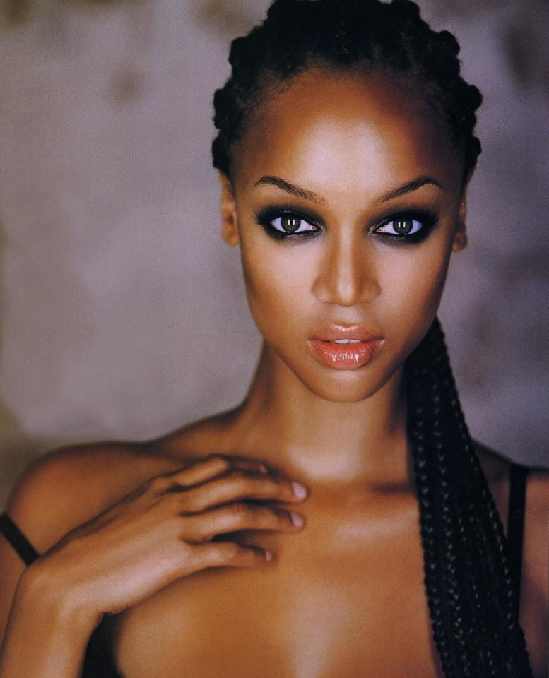 Tyra Banks Black And White: Picture Of Tyra Banks