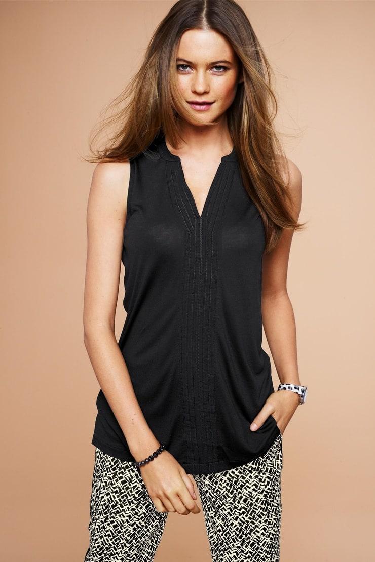 Модные Блузки Без Рукавов 2014