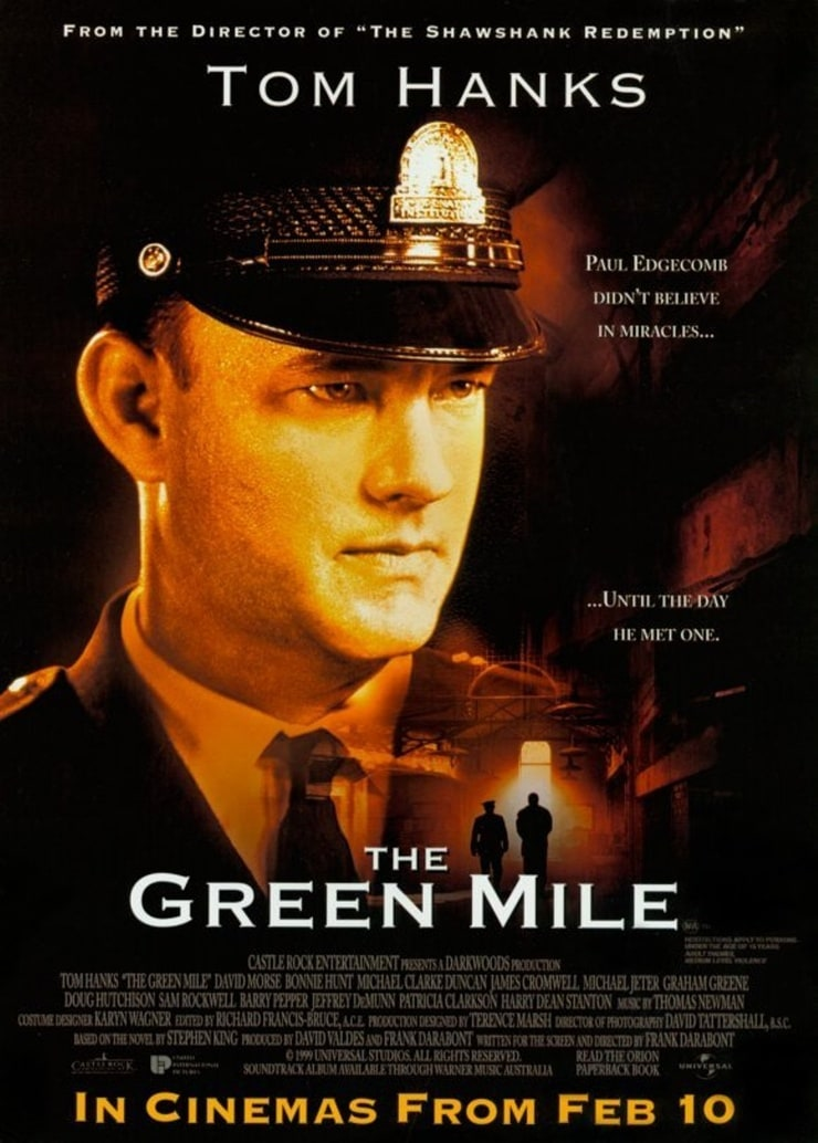 """the green mile movie review Green mile - set on death row in a southern prison in 1935, """"the green mile"""" is the big-screen adaptation of stephen king's 1996 serialized novel it is the."""