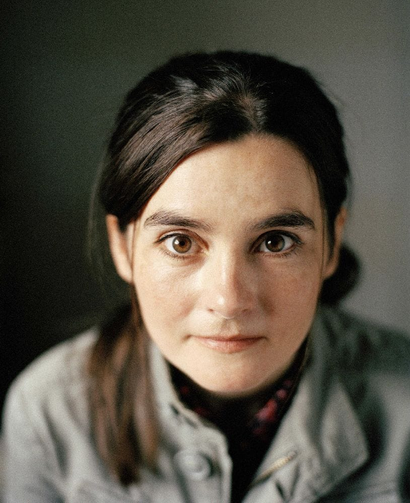 Photo of the cool funny  Shirley Henderson from Forres, Moray, Scotland without makeup
