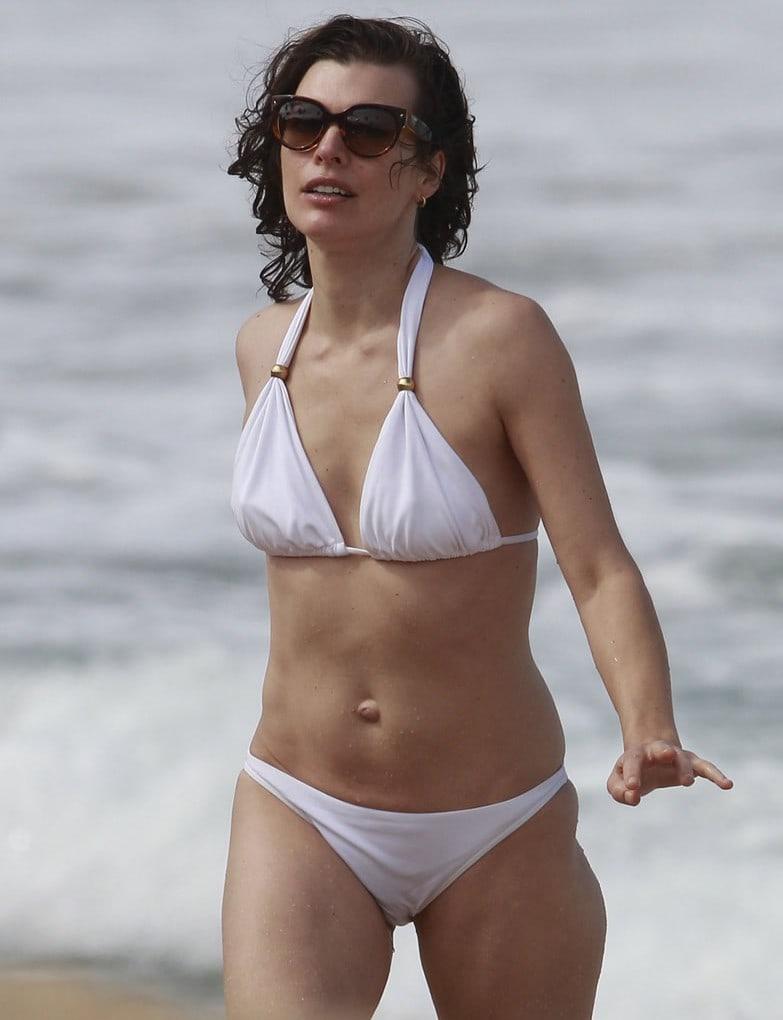 Swimsuit Milla Jovovich nude (62 fotos) Sideboobs, Facebook, bra