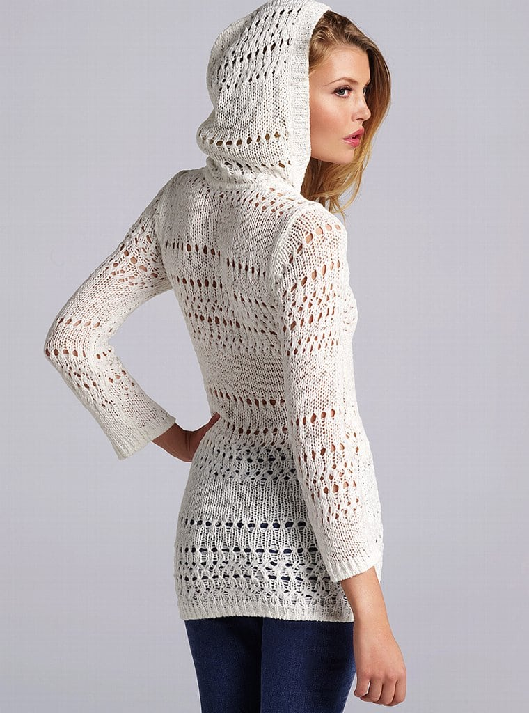 Белый пуловер женский купить с доставкой