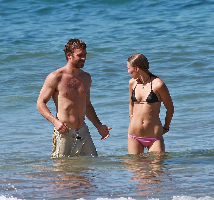 Paul walker and girlfriend