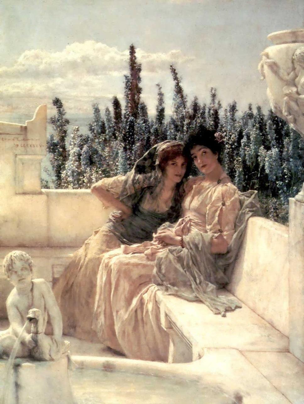 Spring Lawrence Tadema Essay