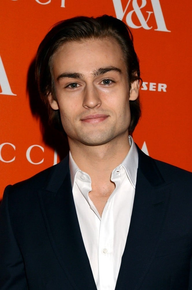 Douglas Booth has been...