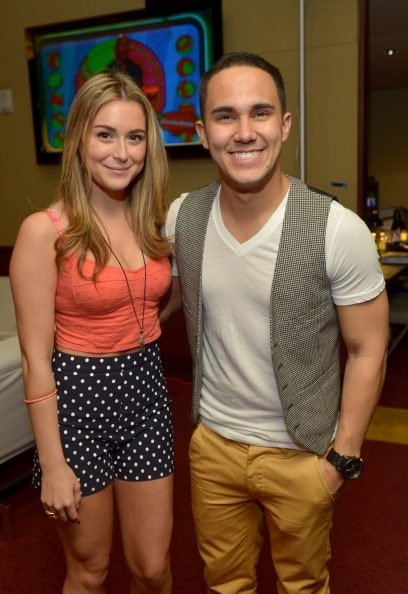 When did carlos pena jr and alexa vega start hookup