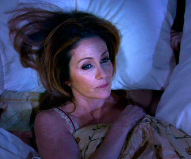 Patricia heaton in bed