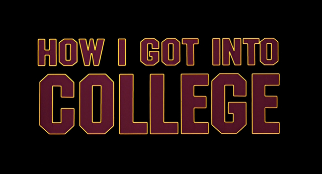 how i got into college How a stolen library book got one man into his dream school and changed his life forever or at least that's the story he tells himself.