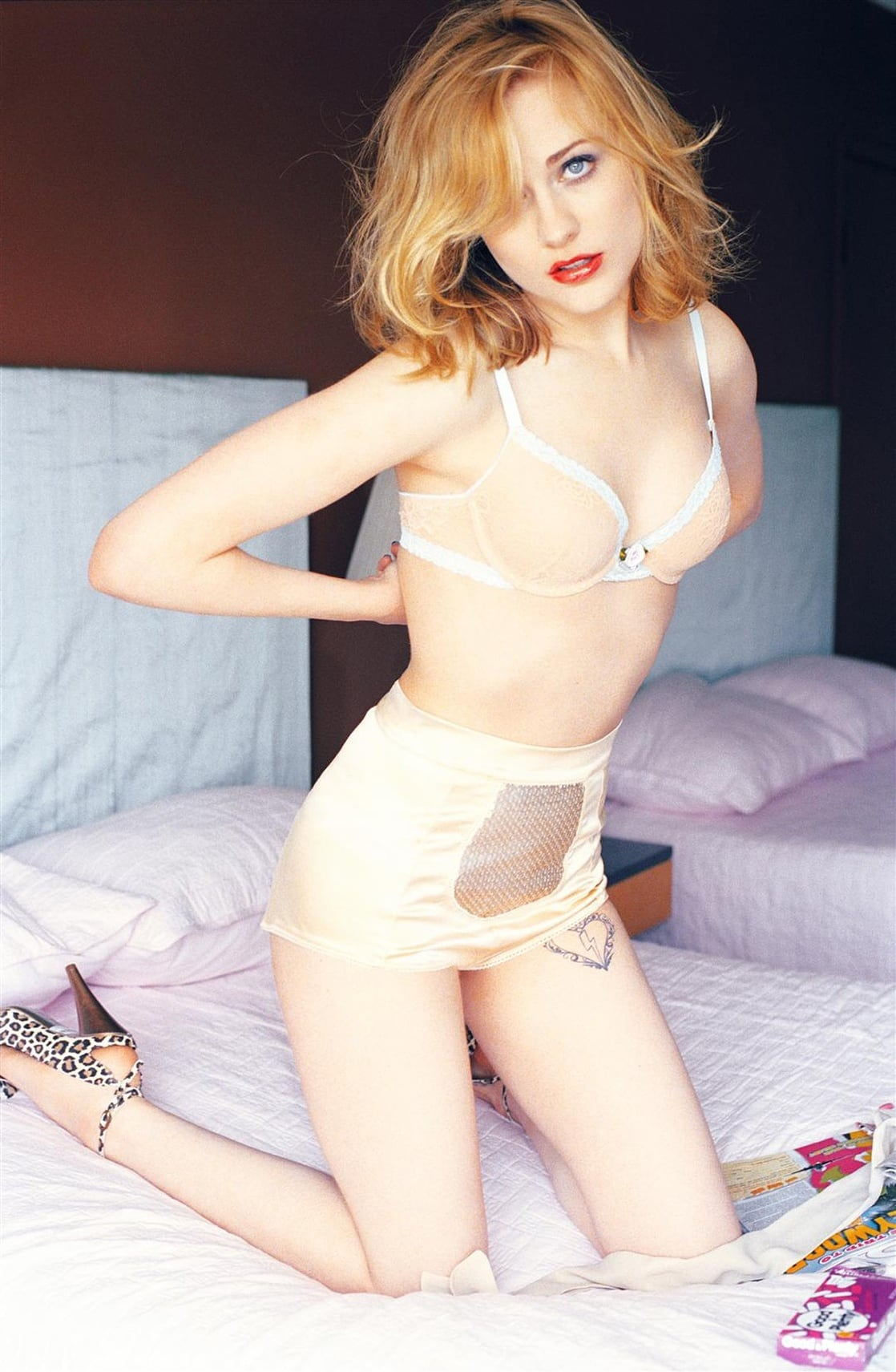 Evan rachel wood lingerie - 2019 year