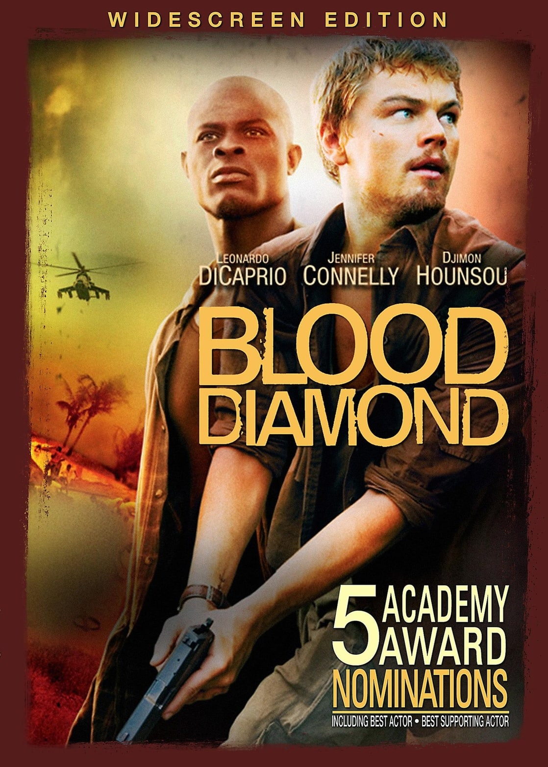 picture of blood diamond widescreen edition blood diamond widescreen edition