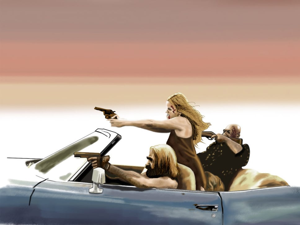Devils Rejects Artwork Picture of The Devil's Rejects